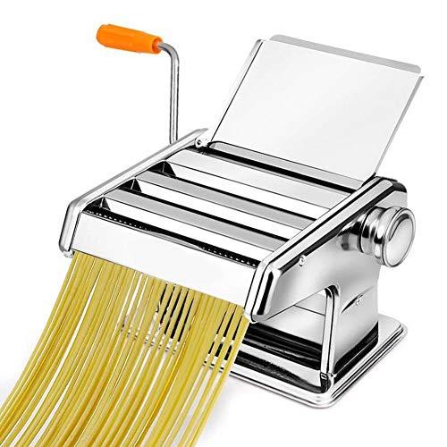 Manuelle Pasta Maschine Durable Edelstahl Griff Pasta Maschine Nudelpresse Maschine Dicke Einstellbare Manuelle Pressmaschine