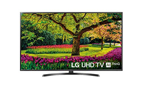 LG 49UK6470PLC - Smart TV de 49' (LED, UHD 4K, Inteligencia Artificial, HDR, Wi-Fi), Color Negro