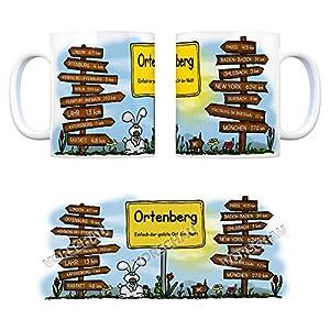 Ortenberg (Baden) - Einfach der geilste Ort der Welt Kaffeebecher - eine coole Tasse von trendaffe - passende weitere Begriffe dazu: Stadt-Tasse Städte-Kaffeetasse Lokalpatriotismus Spruch kw Lahr Paris London Offenburg York Freiburg im Breisgau Hohberg