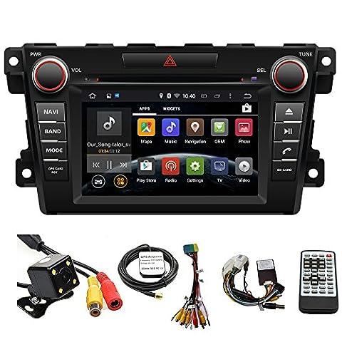 tltek 17,8cm HD 1024* 600muti-touch Bildschirm Auto GPS Navigation System