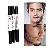 Igemy Feutre à barbe pour homme, contient un liquide nutritif qui favorise la croissance de la barbe et des moustaches