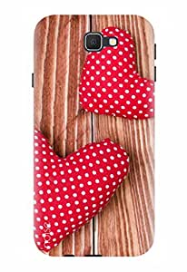 Noise Designer Printed Case / Cover for Samsung Galaxy J7 Prime / Patterns & Ethnic / Love Design