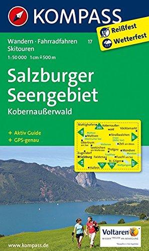 SALZBURGER SEENGEBIET 17  1/50.000