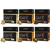 Viaggio Espresso Caffe Compatibili con Macchina Nespresso Aromatizzato - 1 Pacco da 60 Capsule