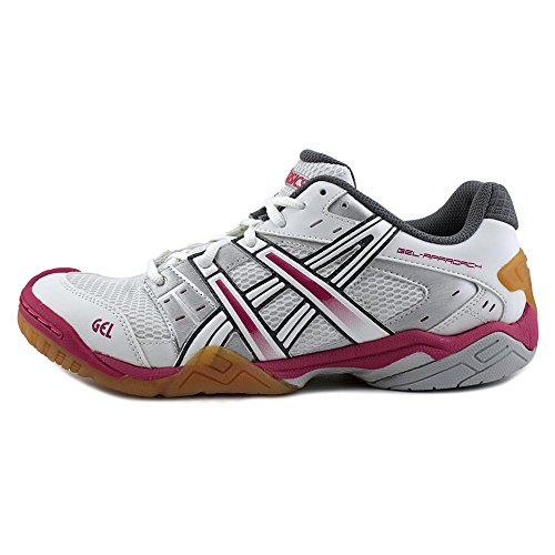 Asics Gel-Approach 5 Synthetik Turnschuhe White/White/Pink