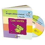 Image de mon imagier-photos musical : Les vents (+ 1CD audio)