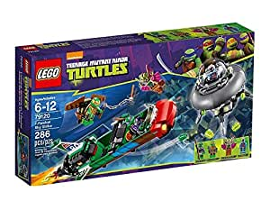 LEGO Ninja Turtles Tm 79120 - T-Rawket All'Attacco