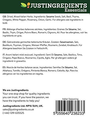 JustIngredients Essentials Italian Seasoning 1 kg, Pack of 2