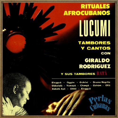 Rituales afrocubanos. LUCUMI. Tambores y cantos, con Giraldo Rodríguez y sus tambores Batá