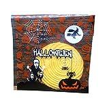 Kentop 100Stk Halloween Opp Süßigkeiten Tasche Kürbis Selbstklebend Tüten Plätzchen Beutel Geschenk Verpackung Tüte für Schokolade Cookie Keks Süßigkeiten (Stil-1)