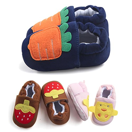 Chaussures bébé,Xinan Chaussures Garçon Fille Cuir Souple Chaussures premiers pas 0-12Mois 2017