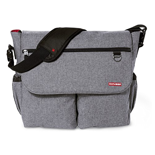 Skip Hop Dash Heather Grey - Bolso cambiador