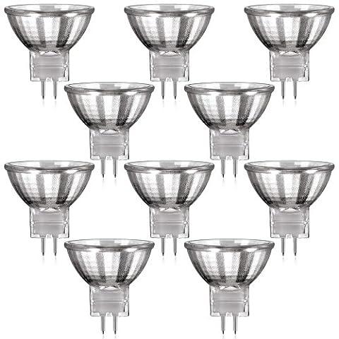 Ampoule Mr11 12 V - Parlat Lot de 10 lampes halogène GU4