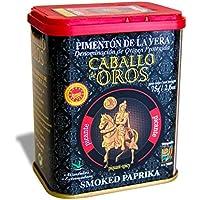 Caballo de Oros - Pimentón de la Vera Picante D.O.P. Lata de 75 gr.