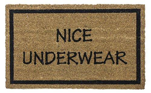 feste Fußmatte aus Kokosfaser, 43cm von 71cm, Nice Unterwäsche ()