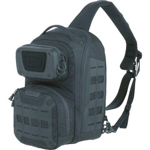 Maxpedition edgepeak Sling Pack Sac à Dos de randonnée, 38 cm, 15 litres, Noir