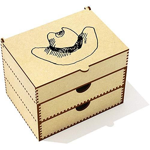 Azeeda 'Cowboy-Hut' Kosmetikkoffer (VC00019993) Designer-hut-boxen