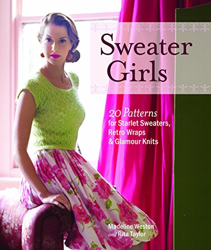 Sweater Girls: 20 Patterns for Starlet Sweaters, Retro Wraps & Glamour Knits Madeline Wrap