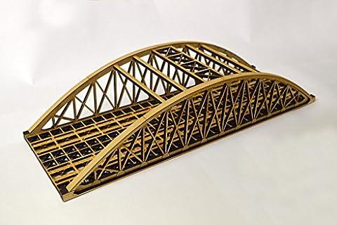 Double Track Bowstring Bridge – LX076-OO - OO Gauge / 4mm / 1:76 Scale