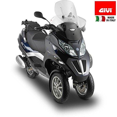 Tourenscheibe Givi Airflow Piaggio MP3 Business/Sport 500/ Touring 300/400/ LT 11-13 klar Klar 11