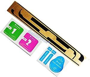 KLEBESTREIFEN Original? Klebefolie Klebestreifen für Apple iPad Mini 1 / iPad Mini 2 / iPad Mini 3 - 3M Sticker Kleber für iPad Mini Display GLas LCD Klebepad inkl Reinigungsset