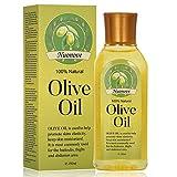 Olivenöl, Olivenöl für Haut und Haar, Stretch Mark Oil, Pflegeöl gegen Dehnungsstreifen & Narben, Intensive Pflege für Gesicht - Haare - Haut, gut mit ätherischem Öl, 150ML