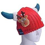 Cowin Wollmütze für Kinder, mit integriertem Bluetooth-Kopfhörer, kann als kabellose...