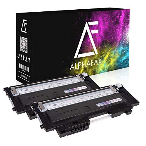 2 Toner kompatibel für Samsung Xpress C430W/TEG C480W/TEG Farblaserdrucker - CLT-K404S/ELS - je 1500 Seiten, Schwarz/Black -