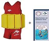Float Suit, RG-1-2, Rot/Gelb, 1-2 Jahre