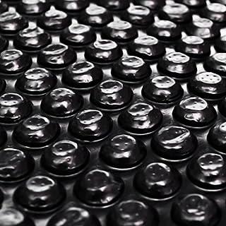 XINGLIEU Pool Accessories Floating Rectangular PE Solar Pool Film 10 x 5 m Black Pool Cover Colour: Black