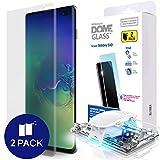 Samsung Galaxy S10 Plus Protecteur d'écran de Téléphone, [Dome Glass] Bord...