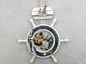 Laufrad Mit Stange : dekoration mit steuerrad stange laufrad aus ~ Kayakingforconservation.com Haus und Dekorationen