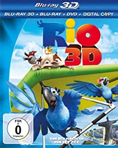 Rio (inkl. Blu-ray + DVD + Digital Copy) [3D Blu-ray]