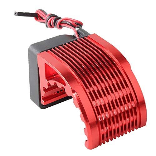 8Eninine Dc 5V Fan Cooling for Rc Brushless Motor Engine 42Mm 1515 812 T8 K80 Red -