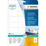 Herma 5074 Adressetiketten (ablösbar, Papier matt, 63,5 x 38,1 mm) 525 Stück weiß