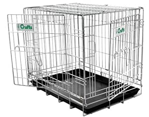 "Crufts 30"" Dog Crate - 30 x 19 x 22 ins high from Croft"