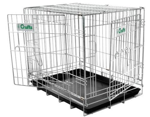 Crufts 43″ Dog Crate – 43 x 27.5 x 30 ins high