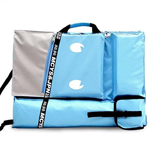 Tasche, HULISEN 4 K Wasserdicht Künstler Gemälde Art Portfolio Tote Und Rucksack Tasche Für Zeichnen Skizzieren (Halloween-papier-geschenk-taschen)