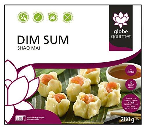 Globe Gourmet - Dim Sum Teigtaschen Shao Mai Garnelen Asiatische Delikatesse TK - 280g