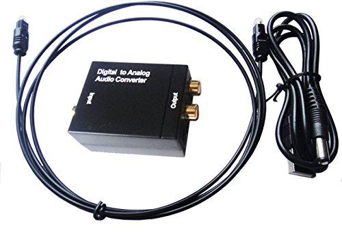 SKN Digital to Analog Audio Konverter Wandler Adap Toslink  SPDIF Koaxial RCA R/L