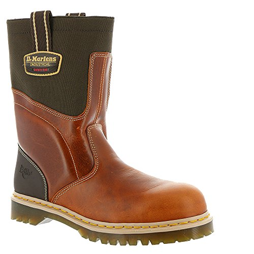 Dr. Martens , Baskets mode pour homme Tan+Dark Brown