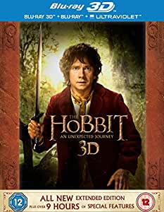 The Hobbit: An Unexpected Journey - Extended Edition [Blu-ray 3D + Blu-ray] [2012] [Region Free]
