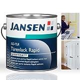 Jansen Türenlack ISO-TLR Rapid weiß 2, 5 Liter seidenmatt Test
