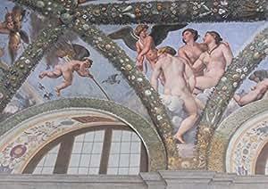 Raphael: Cupidon et les trois grâces. Fine Art Print/Poster. Taille A4(29,7x 21cm)