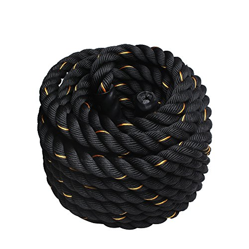 Display4top Cuerda Batalla Battle Rope - Ancho 38mm