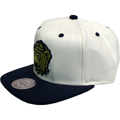 Mitchell & Ness - Snapback Cap Georgetown Hoyas NL16Z white/blue