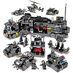 Zzh Choses série Petites Particules assemblées Puzzle Blocs de Construction Jouets pour Enfants