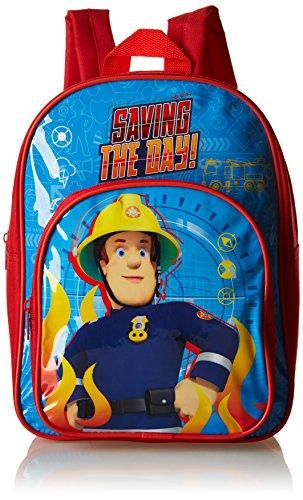 Fireman Sam Sac à dos enfants, bleu (Bleu) - SAM001033