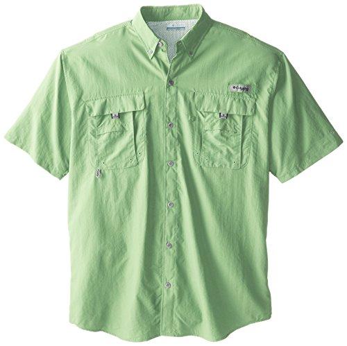 Columbia Herren Men's PFG Bahama II Short Sleeve athletisch, Shirts, Key West, Large Tall (Boot Button Tall)