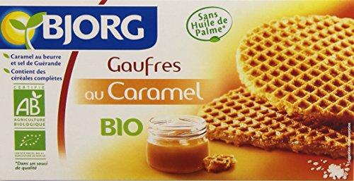 Bjorg 6 Gaufres au Caramel Bio 175 g